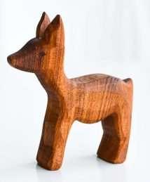 Predan wooden deer (doe)