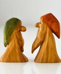 Predan wooden dwarfs