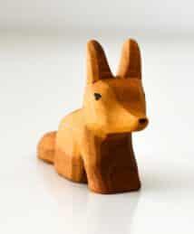 Predan wooden fox