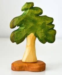Predan wooden leafy tree