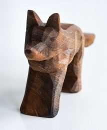 Predan wooden wolf