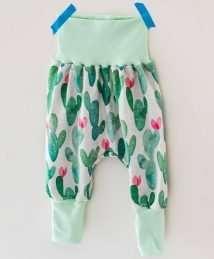 KrokoBaby Cuff Pants (Cactus Love)