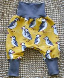 KrokoBaby Cuff Pants (Puffin Love)