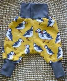 KrokoBaby Cuff Pants (Puffin Love)