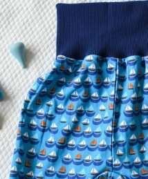KrokoBaby Cuff Pants (Sailing Boats)