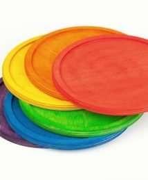 6 Grapat Rainbow Dishes