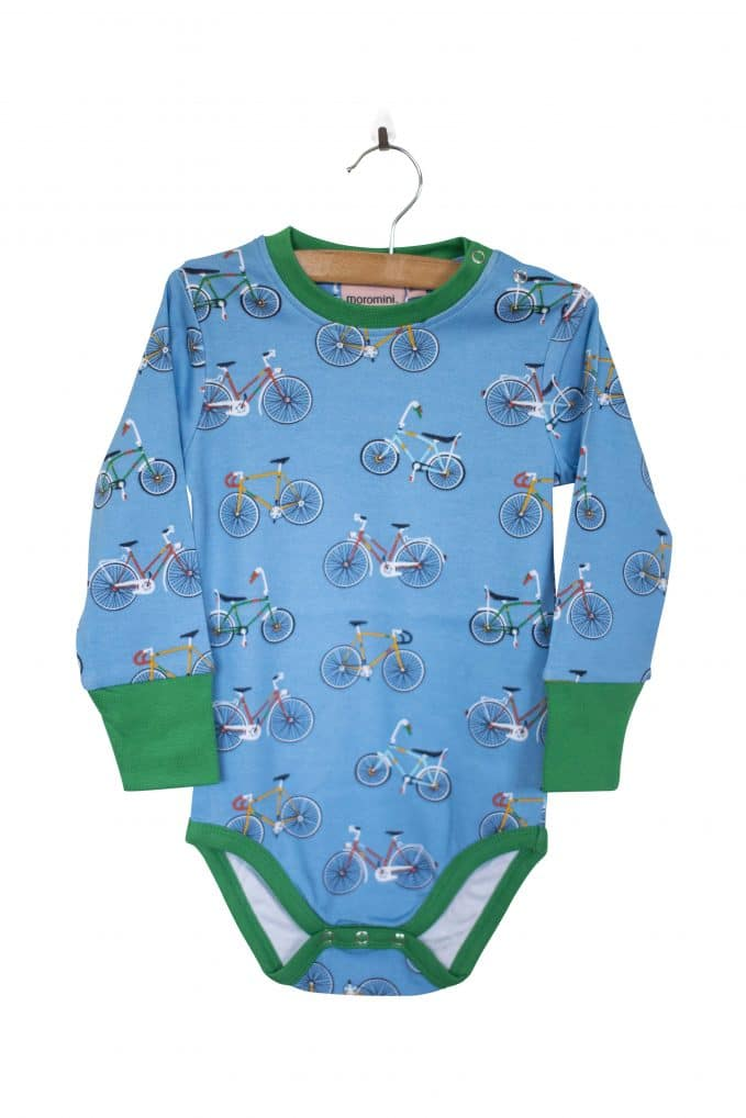 Long-Sleeve Bodysuit Bike Like a Swede
