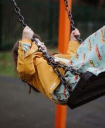 Long-sleeve Twirly Dress 70s Dream