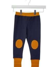 Retro Pants Navy/Yellow/Orange