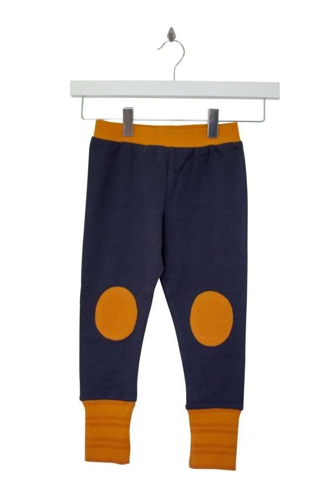 Retro Pants Navy/Yellow/Orange