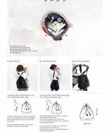 Bucket nappy bag explanation