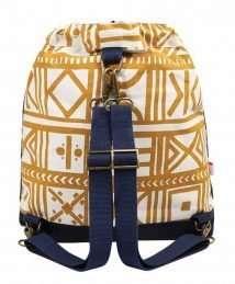 Mara Mea bucket nappy bag (golden sand)