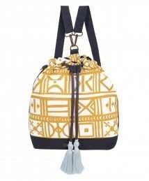 Bucket nappy bag (golden sand)