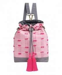 Mara Mea Bucket Nappy Bag (Flowing Sari)