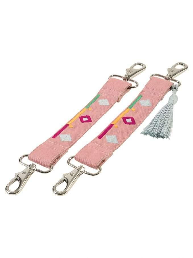 Mara Mea Extra Stroller Clips (Stumble On Light Pink)