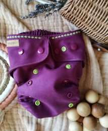 Puppi Merino Wool Cover Newborn - Forest Flower (Snaps)