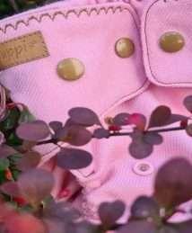 Puppi Merino Wool Cover Newborn - Peony Snaps
