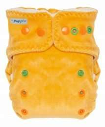 Puppi Pocket Fitted Nappy (One Size Late Fall Snaps)