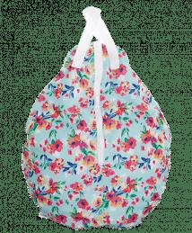 Smart Bottoms Hanging Wet Bag (Aqua Flora)