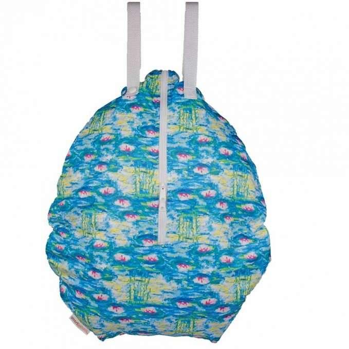Smart Bottoms Hanging Wet Bag Water Lillies