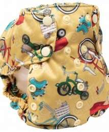 Smart Bottoms Too Smart Nappy Cover (How We Roll)