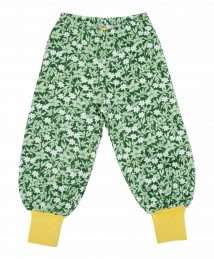 DUNS Sweden All over printed Baggy Pants (Wood Anemone - Green)