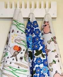 DUNS Sweden Kitchen Towel (Hepatica Nobilis)_1