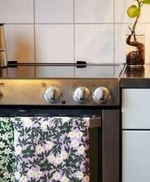 DUNS Sweden Kitchen Towel (Wood Anemone - Green)_1