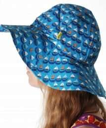 DUNS Sweden Sun Hat (Sailing Boats Blue)