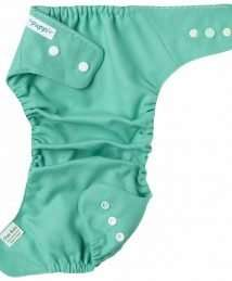 Puppi Merino Wool Cover (One Size Baby Mint - Snaps)