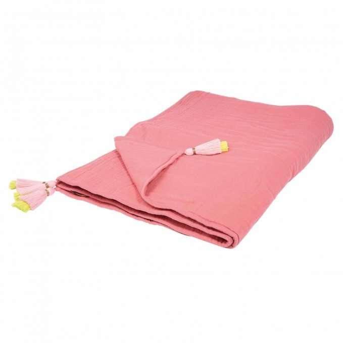 Mara Mea Baby Blanket (Red Chalk)