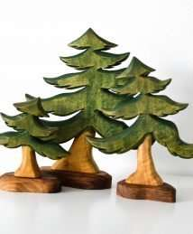 Predan fir trees
