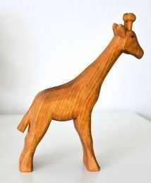 Predan wooden giraffe