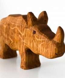 Predan wooden rhino