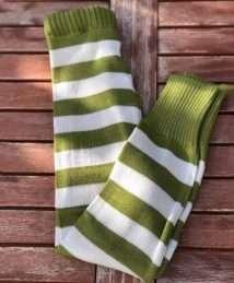 Glückswindel Wool Longie (Olive Stripes)