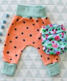 KrokoBaby Harem Pants (Blackberries)