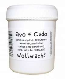 Avo& Cado Wool Wax (100g)