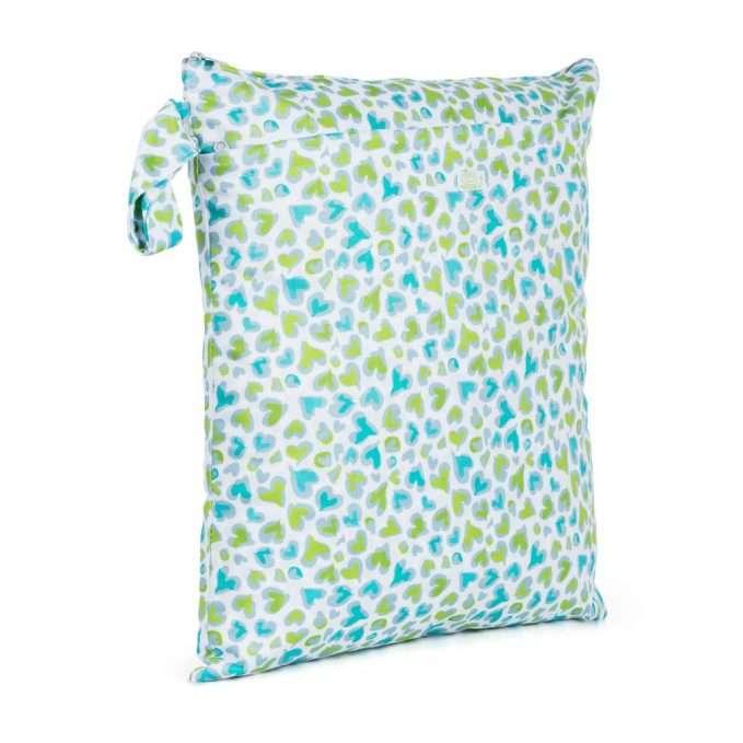 Baba+Boo Medium Double Zip Wet Bag - Changemaker