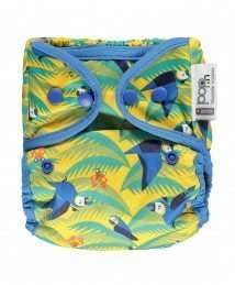 Close Pop-In Nappy Wrap (Parrot) - Poppers