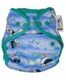 Close Pop-In Nappy Wrap (Puffin) - Poppers