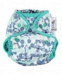 Close Pop-In Nappy Wrap (Snow Leopard) - Poppers