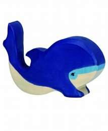 Holztiger Small Blue Whale