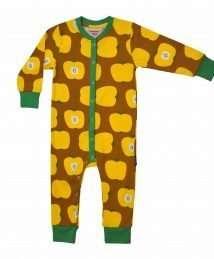 Moromini Baby Pyjamas Yellow Apples