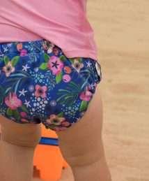 Smart Bottoms Swim Diaper (Isla Flor)