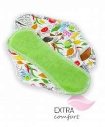 Petit Lulu Cloth Sanitary Pad (Slip) - Autumn Hedgies