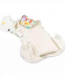 Petit Lulu Fitted Nappy Fluffy Organic (Newborn)