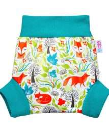 Petit Lulu Pull-Up Nappy Cover (Foxes)