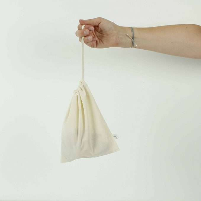 A Slice of Green Organic Cotton Produce Bag - Small (18 x 22cm)
