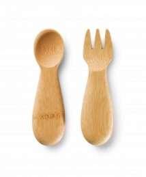 Bambu Baby Fork & Spoon
