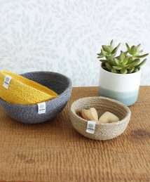 ReSpiin Jute Bowl Set (Mini - Beach)